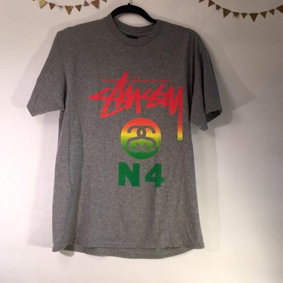 Stussy Shirts Ned Grey Shirt Poshmark